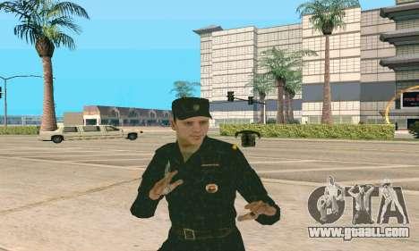 Senior Police Sergeant v.1 for GTA San Andreas third screenshot