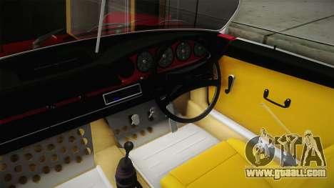 Porsche 911 RWB Speedster 1984 for GTA San Andreas inner view