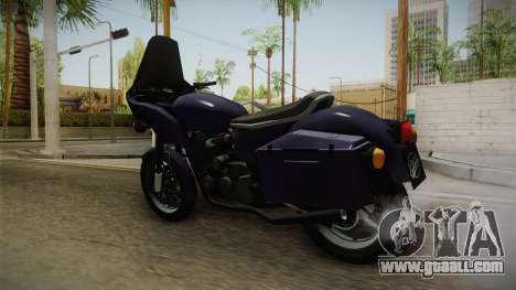 HPV 1000 Reborn for GTA San Andreas back left view