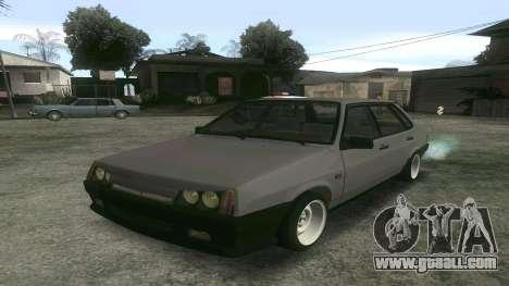 VAZ 21099 Aggressive for GTA San Andreas