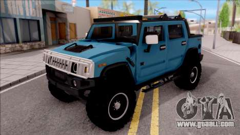 Hummer H2 Sut 4x4 for GTA San Andreas