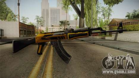 CS: GO AK-47 Fuel Injector Skin for GTA San Andreas