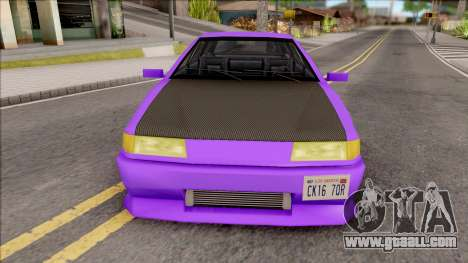 Stratum Stanced for GTA San Andreas inner view