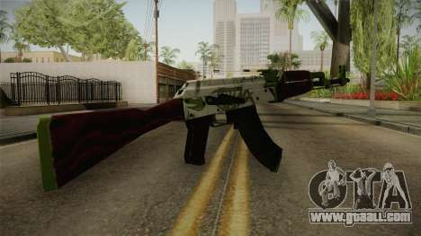 CS: GO AK-47 Hydroponic Skin for GTA San Andreas second screenshot