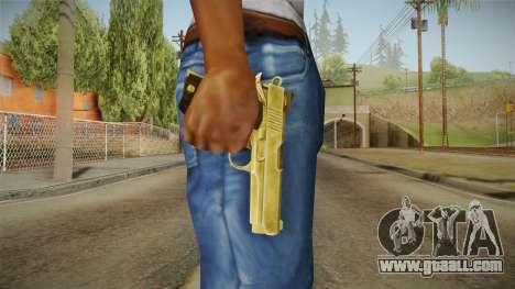Silent Hill Downpour - Golden Gun SH DP for GTA San Andreas third screenshot