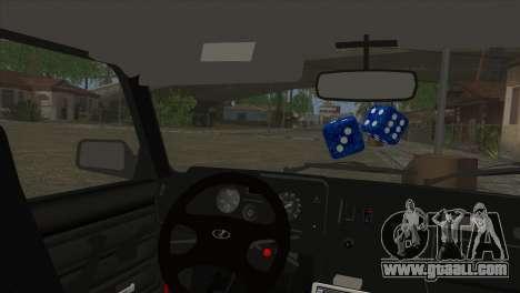 VAZ 2105 Combat Classics for GTA San Andreas right view