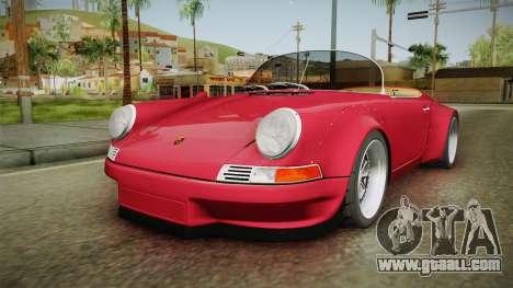 Porsche 911 RWB Speedster 1984 for GTA San Andreas