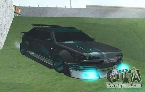 VAZ 2114 GTR SLS AMG for GTA San Andreas right view