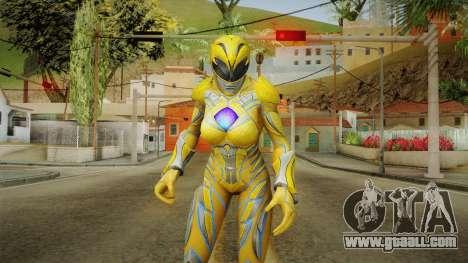 Yellow Ranger Skin for GTA San Andreas
