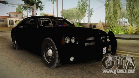 Dodge Charger 2010 Police for GTA San Andreas right view