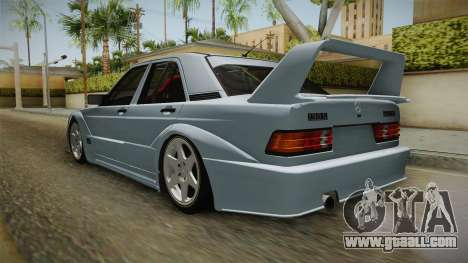 Mercedes-Benz W201 190E for GTA San Andreas right view