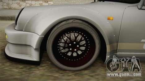 Porsche 911 RWB Terror 1982 for GTA San Andreas back view