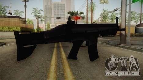Mirror Edge FN SCAR-L for GTA San Andreas second screenshot