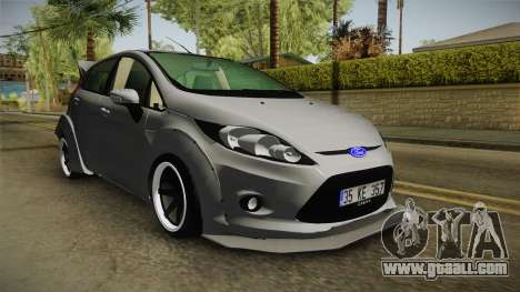 Ford Fiesta Rocket Bunny for GTA San Andreas right view