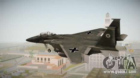 F-15 Eagle Luftwaffe 1945 for GTA San Andreas left view