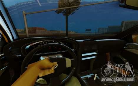 Nissan Almera for GTA San Andreas back view
