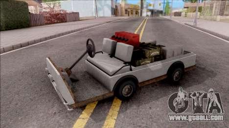 Caddy from GTA 5 DLC GunRunning for GTA San Andreas