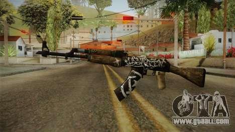 CS: GO AK-47 Wasteland Rebel Skin for GTA San Andreas