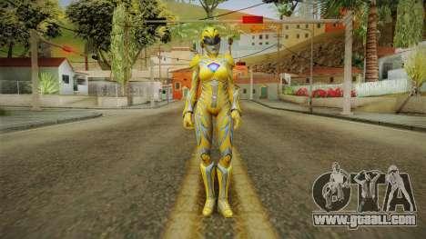 Yellow Ranger Skin for GTA San Andreas second screenshot