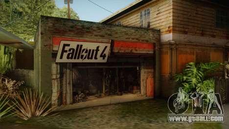 Fallout 4 Garage Texture HD for GTA San Andreas