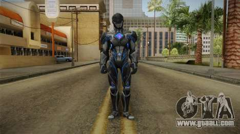 Black Ranger Skin for GTA San Andreas second screenshot