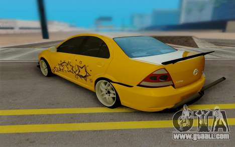 Nissan Almera for GTA San Andreas back left view