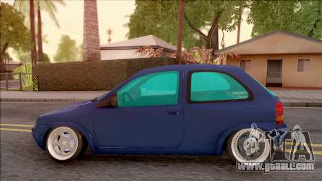 Chevrolet Corsa B Stance for GTA San Andreas left view