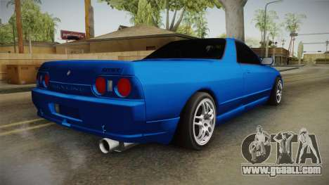 Nissan Skyline R32 Pickup for GTA San Andreas left view