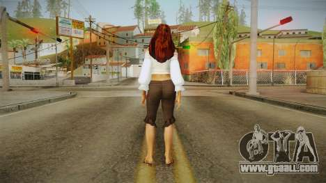 Zantanna Skin v2 for GTA San Andreas