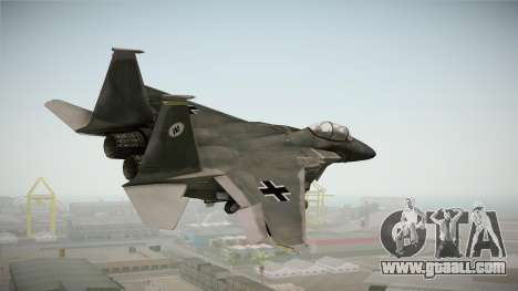 F-15 Eagle Luftwaffe 1945 for GTA San Andreas right view