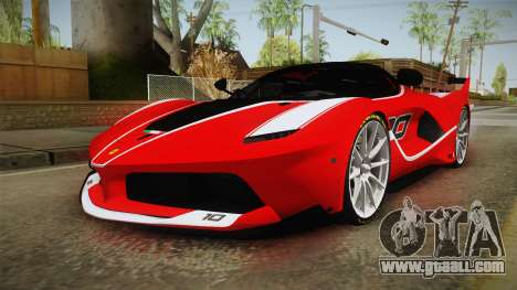 Ferrari FXX-K for GTA San Andreas