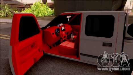 Nissan Ddsen Skrab 2016 for GTA San Andreas inner view