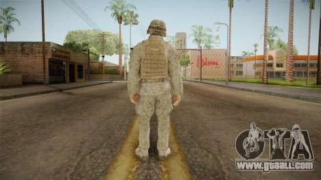 Soldado del Ejercito Chileno for GTA San Andreas third screenshot