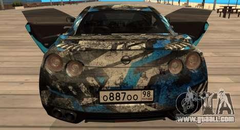 Nissan GTR 2015 Bulkin Edition 1.0 for GTA San Andreas right view