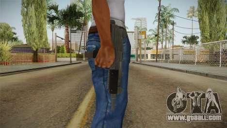 Battlefield Hardline Uzi for GTA San Andreas third screenshot