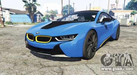 BMW i8 (I12) 2015 [add-on] for GTA 5