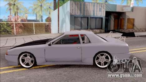 Drift Elegy for GTA San Andreas left view