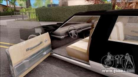 Driver PL Chauffeur for GTA San Andreas inner view