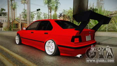BMW E36 Sedan for GTA San Andreas left view