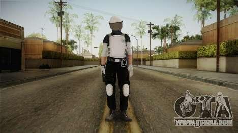 Mirror Edge Riot Cop v1 for GTA San Andreas second screenshot