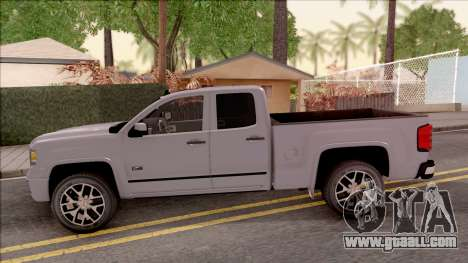 GMC Sierra 2014 for GTA San Andreas left view