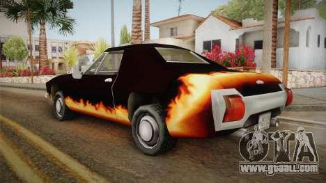 GTA SA DLC - Diablo Stallion for GTA San Andreas left view