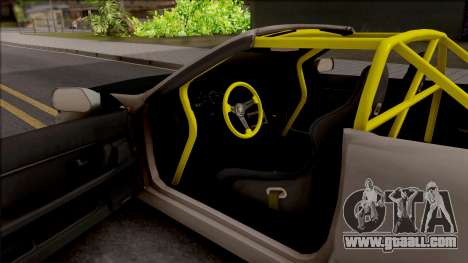 Nissan Skyline R32 Cabrio Drift Rocket Bunny for GTA San Andreas inner view