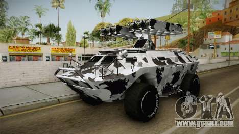 APC GTA 5 GunRunning Custom Turret for GTA San Andreas right view
