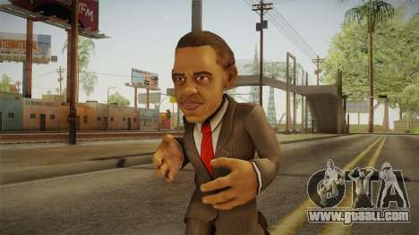 Barack Obama DD Skin for GTA San Andreas