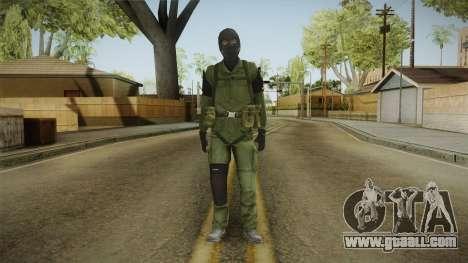 MSF Custom Soldier Skin 1 for GTA San Andreas second screenshot