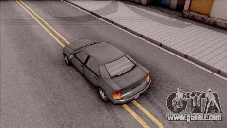 Kuruma from GTA 3 for GTA San Andreas back view