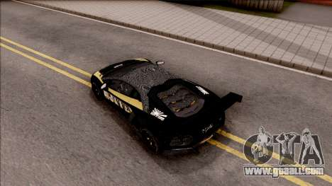 Lamborghini Aventador LP700-4 LB Walk Hunter for GTA San Andreas back view