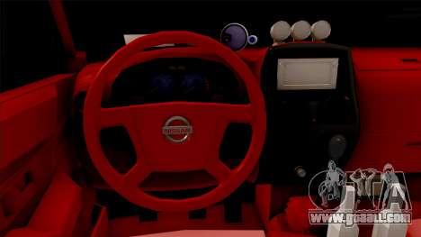 Nissan Ddsen BLD 2016 for GTA San Andreas inner view
