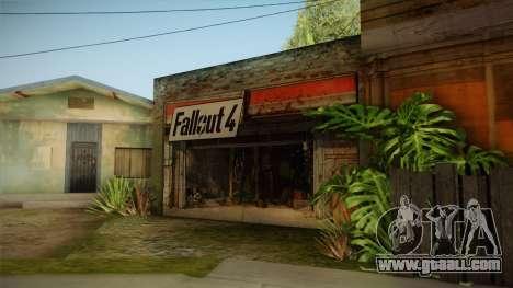 Fallout 4 Garage Texture HD for GTA San Andreas second screenshot